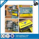 Manual de cuerda de alambre de la mano del cabrestante
