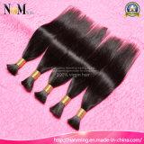 Sin procesar Coser en el cabello brasileño Body Wave / Straight Human Granel Pelo Trama