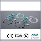 Máscara disponible médica del nebulizador con aislante de tubo con la certificación del Ce