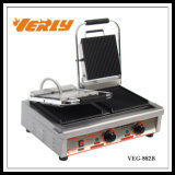 Electric commerciale Sandwich Maker/Panini Griddle di Good Quality con CE Approved (VEG-882B)