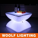Ce RoHS Rechargeable Remote Control LED Iluminated Table