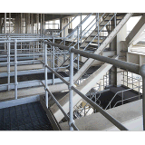 Railing&Stanchion galvanizado sumergido caliente