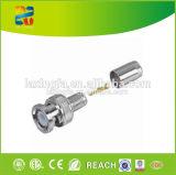 Connecteur imperméable à l'eau coaxial de liaison de vente chaud du câble F avec le prix usine
