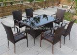 حديقة [رتّن] طاولة وكرسي تثبيت مجموعة