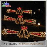 Lumière extérieure de décoration d'horizons de vacances de la décoration DEL de Noël de rue
