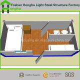 Moderne Ausgangsfertigbehälter-Haus mit Innenteildiensten