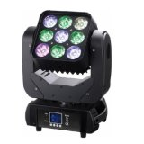 9X10W LED Moving Head Matrix Light para Stage