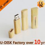 Bambu feito sob encomenda do logotipo/disco instantâneo de madeira do USB (YT-8102L)