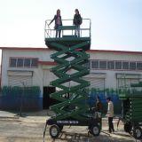 Table élévatrice hydraulique manuelle mobile des ciseaux Sjy0.3-6