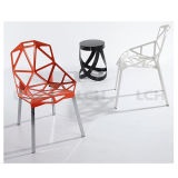 Металл самомоднейшей конструкции обедая стул