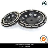 Murat 두 배 줄 세그먼트 다이아몬드 구체적인 가는 컵 바퀴