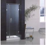 Escolhir a porta do vidro do chuveiro