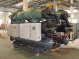 Refrigerador refrigerado por agua industrial del tornillo del solo compresor del Ce