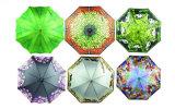 Druck-hölzernen Antriebswelle-Regenschirm (YS-SM23083562) Wärme-Übertragen