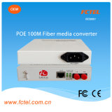 Poe Power Supplyの100m Media Converter