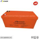 Batería solar 12V200ah Cg12-200 del gel de la calidad excelente