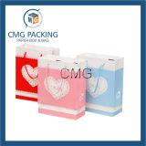 Bolso de mano de papel impreso con la cuerda de los PP (DM-GPBB-064)