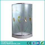 Sitio caliente europeo de las unidades de la ducha de la venta con el vidrio impreso (LTS-825D)