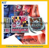 La medaglia ed il trofeo su ordinazione di sport da seguono il metallo