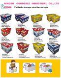 tamborete encantador do armazenamento da série do projeto do barramento dos miúdos do poliéster 600d para brinquedos