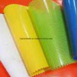 Сделайте сплетенную ткань с покрытием водостотьким PVC для драпирования