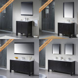 Fed-1159 6 Inch Elegant Modern Solid Wood Bathroom Vanities Bath Möbel