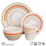 新しいデザイン安い陶磁器の食事用食器セット