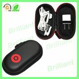 까만 지퍼 스포츠 (EC-2011)를 위한 휴대용 단단한 EVA 이어폰 상자