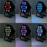 54X3w LED RGBW DMX-512 PAR64 Effet Light DJ Party Stage Lighting
