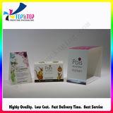 Caja y funda plegables impresas aduana de cartón de la alta calidad