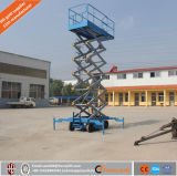 Levage mobile hydraulique électrique de ciseaux de la Chine pour la maintenance de réverbère