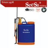20L Knapsack 또는 Backpack Manual Hand Pressure Brass Cylinder Sprayer (SX-LK20V-A)