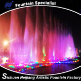Running variopinto Fountain per Lake