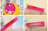 Tipo caja del teléfono del silicón (XSF-054) del gato de la estrella de los bastones de Sailor Moon