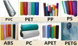 PVC, PS, 애완 동물, PP, Gxpp 및 PLA를 위한 고속 물집 기계
