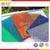 Feuille de polycarbonate solide Yuemei pour matériau de corridor d'éclairage