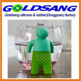 Selling popular Lazy Mr. Tea Silicone Tea Infuser com Removable Hands