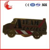 Insignes promotionnels personnalisés par vente en gros en métal