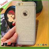 Cubierta barata de lujo de la caja del teléfono móvil del brillo para el iPhone 6/6s