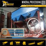 Rafadora del aparejo de la gravedad del separador del mineral del manganeso de los concentradores de la plantilla del oro
