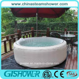 Tina de baño adulta plegable automatizada de la burbuja de aire (gris pH050011)