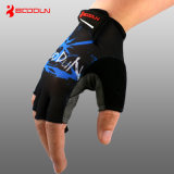Wholesale Breathable Mesh Fabric Fingerless Cycling Gloves
