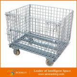 Lid를 가진 접을 수 있는 Hot Sale Galvanized Wire Mesh Container