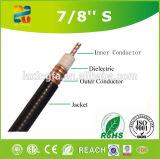 Cable coaxial de pequeñas pérdidas libre del halógeno del cable coaxial 7/8