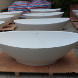 Precio muy pequeño simple de la bañera del diseño de Kkr/bañera superficial sólida