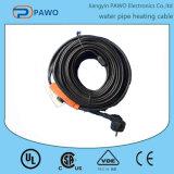 エネルギーSaving ThermostatのPVC Waterproof Water Pipe Heating Cable 220V