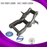 Series stretto Steel Welded Conveyor Chain con Attachments