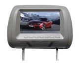 USB SD монитора заголовника автомобиля 7 дюймов опционный