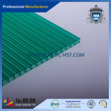 Hoja hueco del material para techos de la PC de la hoja de Polycarbinate de la Gemelo-Pared (PC-H10)
