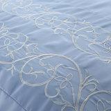 贅沢の100%年の綿によって刺繍されるホーム織物